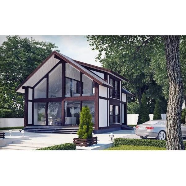 Дом из ЛВЛ-бруса «Ф-101»